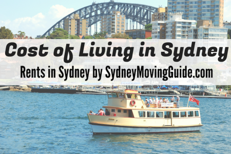 Cost of Living in Sydney - Median Weekly Rents by Suburb Infographic