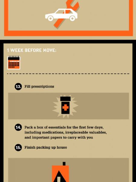 Countdown to Your Next Move Infographic