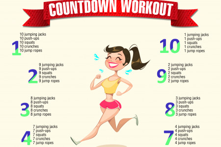 Countdown Workout Infographic