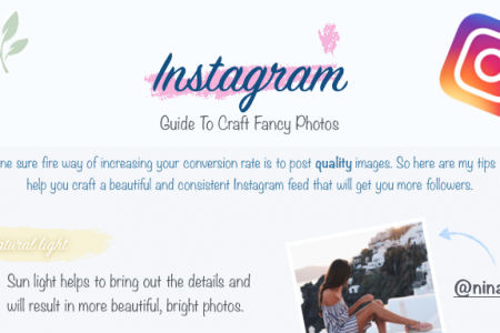 Craft Fancy Photos on Instagram Infographic