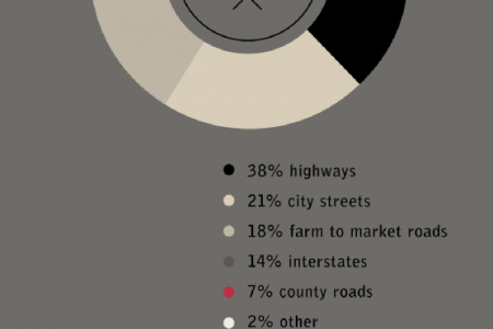 Crash Site: Traffic Accidents in Texas Infographic