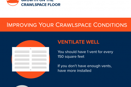 Crawlspace Cleanup for a Healthier Home Infographic