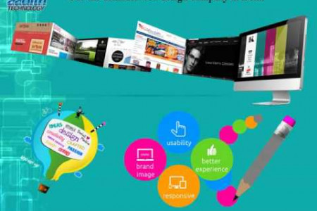 Create a Website to Represent of Your Company Online  Infographic
