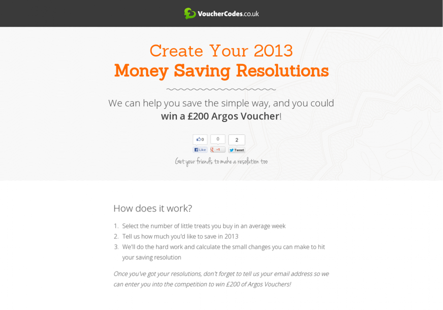 Create Your 2013 Money Saving Resolutions Infographic