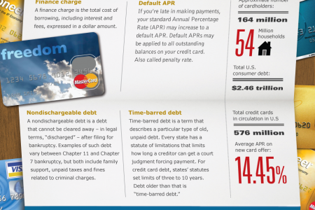 Credit Cards: Terms you need to know. Infographic