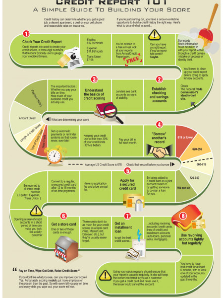 Credit Report 101 Infographic