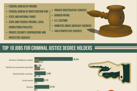 Criminal Justice Degrees - 2014 Emerging Trends Infographic