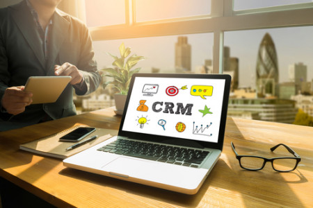 CRM User List Infographic