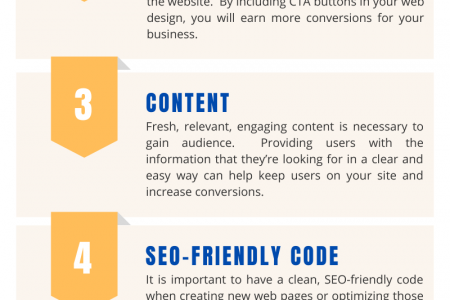 Crucial Elements of Web Design Infographic