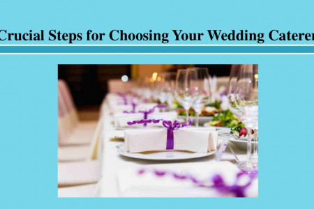 Crucial Steps for Choosing Your Wedding Caterer Infographic