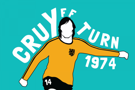Cruyff Turn World Cup Illustration Infographic