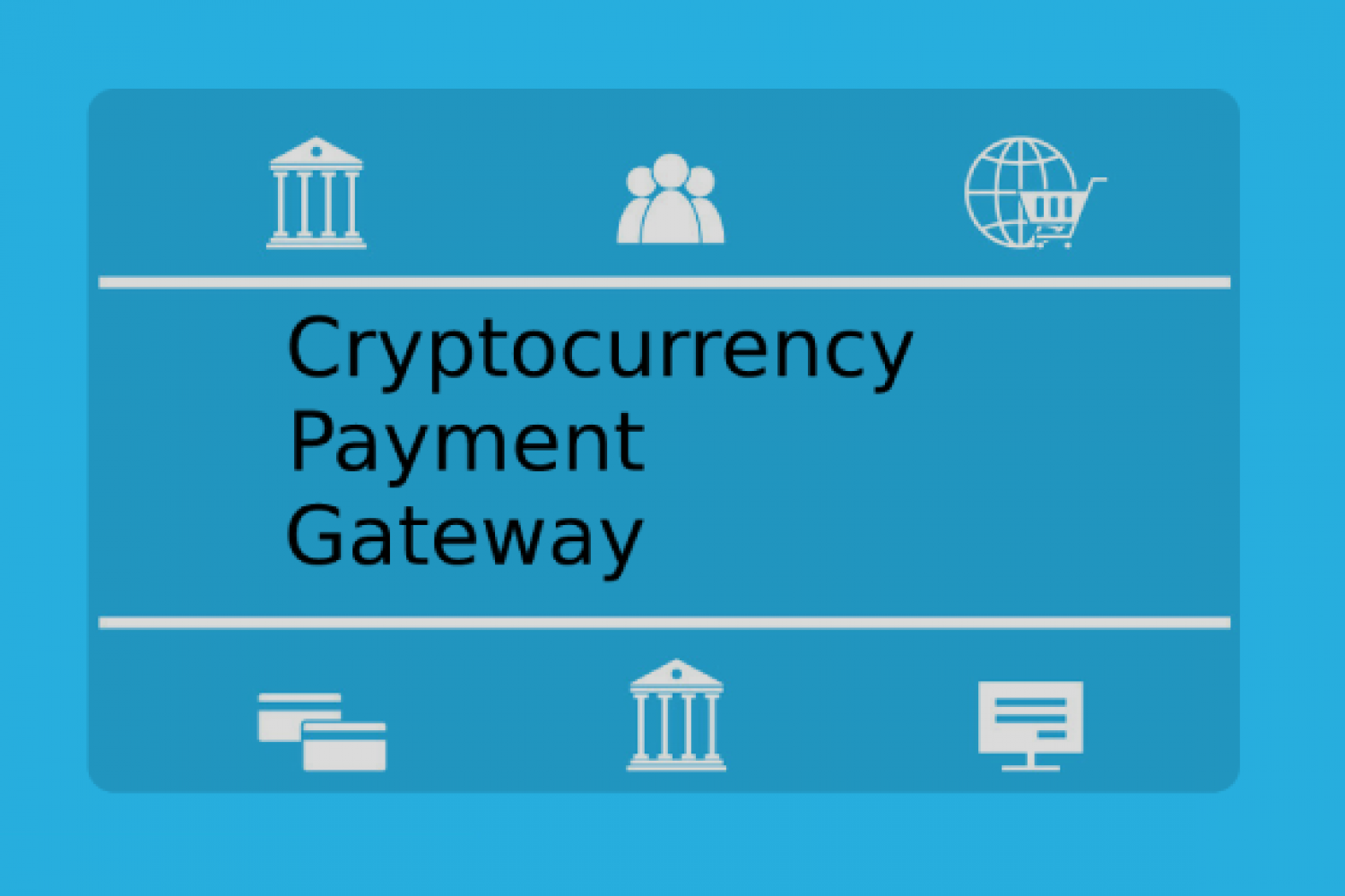 Crypto Payment Gateway Services enhance operational efficiency Infographic