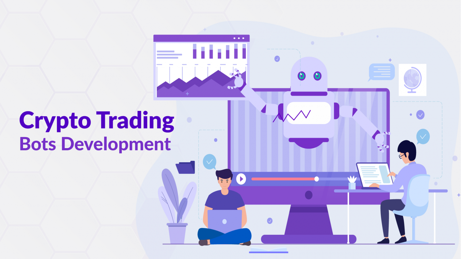 Cryptocurrency Trading Bots Development Infographic