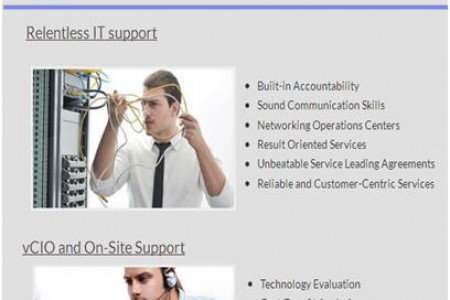 CSM-The IT Services Company Promising Relentless IT Support Infographic