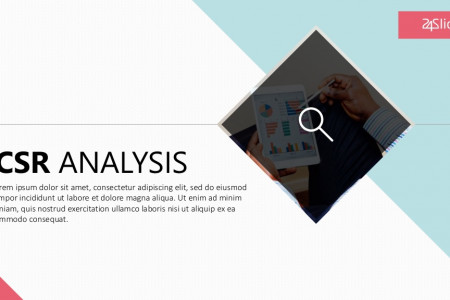 CSR Analysis PowerPoint Template   Free Download  Infographic