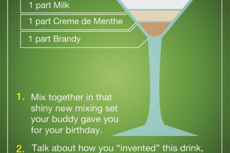 Curdled Mess Cocktail Infographic