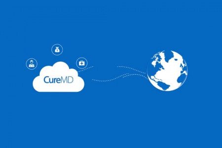 CureMD All-In-One EHR, Practice Management and Billing Services Infographic