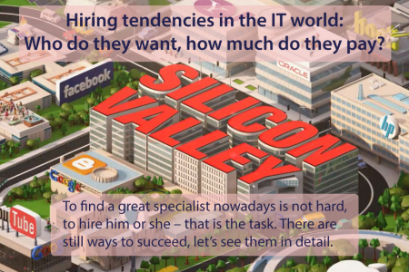 Current IT Job Trends Infographic