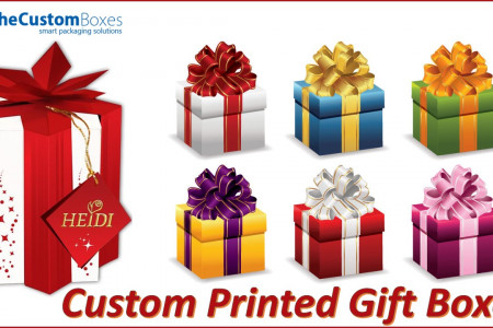 Custom Printed Gift Boxes Can Make Your Gifts Special Infographic