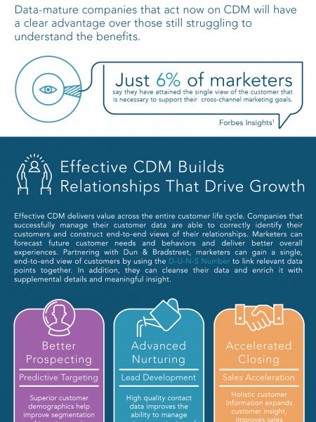 Customer Data Management: The Time for Action is Here Infographic