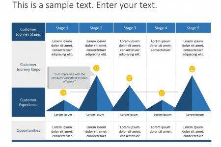 Customer Journey Map Template Infographic