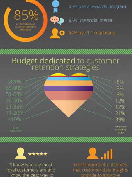 Customer Retention Marketing Programs Infographic