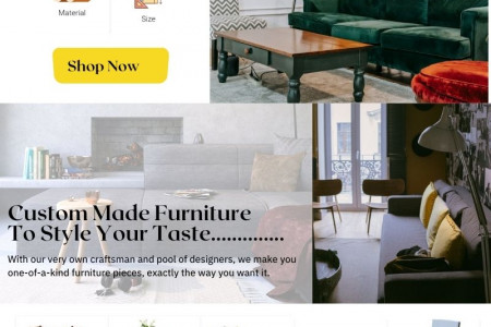 Customized Furniture In Philippines Infographic