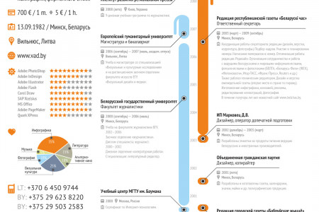 CV (www.vad.by) Infographic