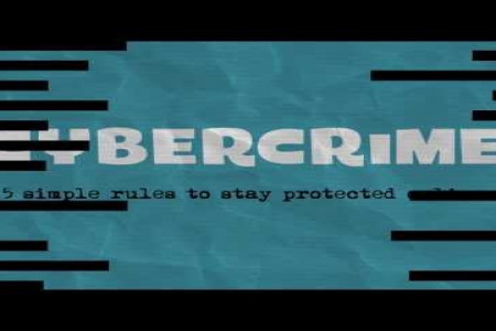 Cybercrime: how to protect your online data  Infographic