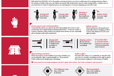 Cycle Safety Tips Infographic