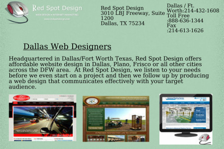 Dallas Web Designers Infographic