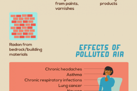 Dangers of Poor Indoor Air Infographic