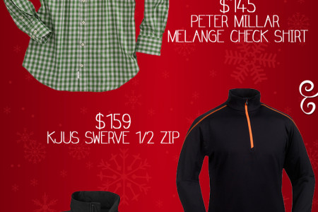 Darien Sport Shop's Holiday Gift Guide for Men Infographic