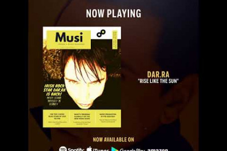 Dar.Ra Rise Like The Sun New Release on Kusha Deep Records Infographic