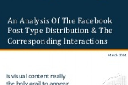 Data Analysis: Which Facebook Post Type Rules The News Feed? Infographic