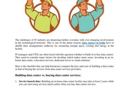Data Centers : Building vs. Buying Infographic
