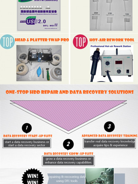 Data Recovery Solutions Infographic