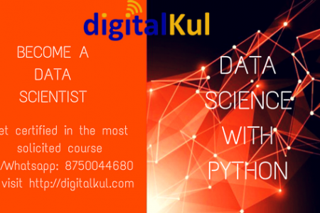 Data Science With Python Infographic