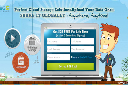 DataBagg - Free online data storage service  Infographic