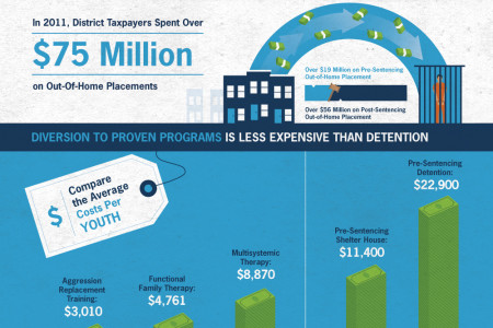 DC Youth: Invest or Incarcerate? Infographic