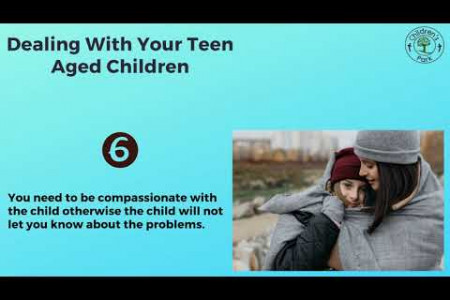 Dealing With Your Teen Aged Children Infographic