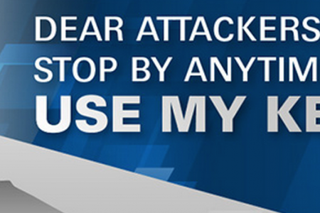 Dear Attackers, Stop By Anytime & Use My Keys Infographic