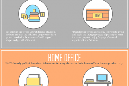 Declutter Your Life Infographic