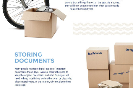De-Cluttering Your Winnipeg Home Can Be Made Easy With Self-Storage Infographic