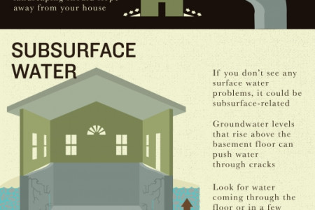 Decoding Water Damage in Basements and Crawlspaces Infographic