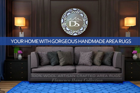 Decorate Your Home with Gorgeous Handmade Area Rugs Infographic
