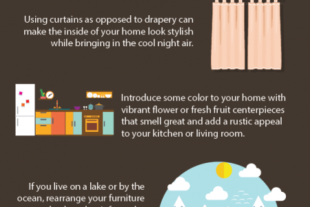 Decorating Your Home For The Summer Time Infographic