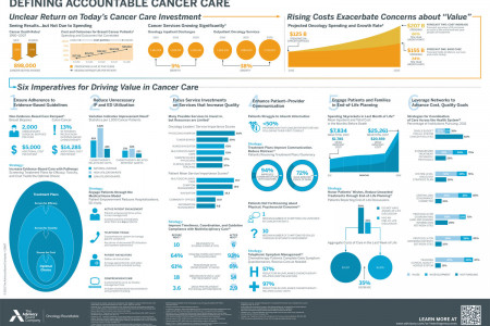 Defining Accountable Cancer Care Infographic
