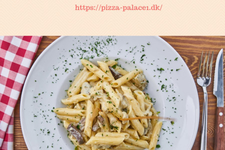 Delicious Pasta At Pizza Palace 1 Infographic