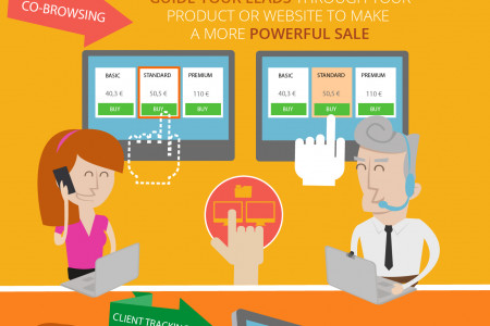 Delio Live Help Tool Lead Management by Walmeric Infographic